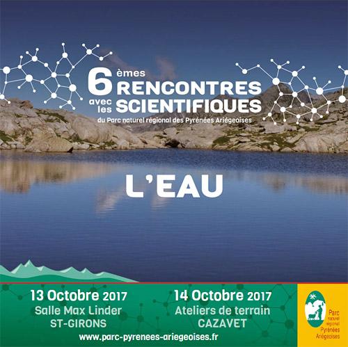 Rencontres scientifiques 2018